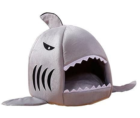 Magiböes Dibujos Animados de cálidos de Suave para Perros Mascotas Perros Gatos Tiburón Especialmente diseñados Mascotas