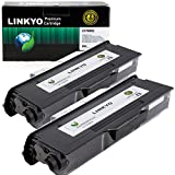 brother mfc8480dn toner - LINKYO Compatible Toner Cartridge Replacement for Brother TN650 TN-650 TN620 (Black, High Yield, 2 Pack)