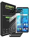 [3-Pack] LG Stylo 4 Screen Protector, JUMPY [Full Coverage] Tempered Glass with Lifetime Replacement Warranty
