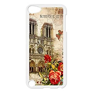 Good Quality Phone Case Designed With Travel Cards For iPod Touch 5