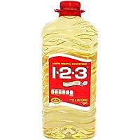 1-2-3, 1 2 3 Aceite Vegetal Galon 3.785 Lt, 3.78 litros