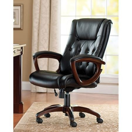Better Homes and Gardens Bonded Leather Executive Office Chair from Better Homes and Gardens