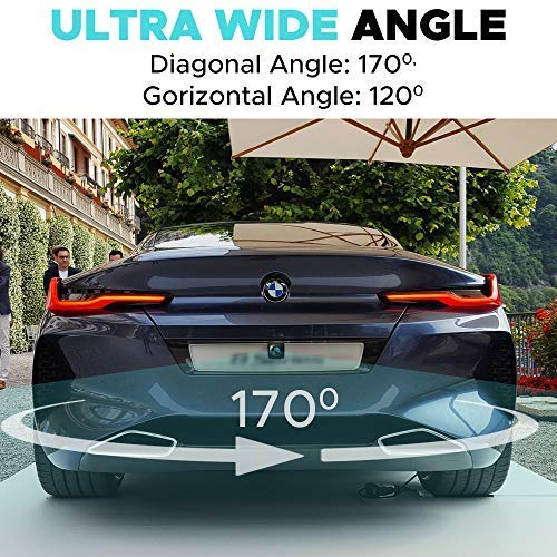 Backup Camera Night Vision - HD 1080p - Car Rear View Parking Camera - Best 170° Wide View Angel - Waterproof Reverse Auto Back Up Car Backing Camera - High Definition - Fits All Vehicles by Yanees by YANEES (Image #8)