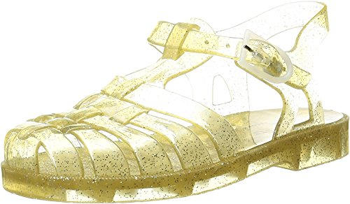 Price comparison product image Little Marc Jacobs Baby Girl's Beach Sandals (Toddler / Little Kid / Big Kid) Gold Sandal