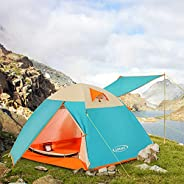 ZOMAKE Lightweight Backpacking Tent, 2 Person Tents for Camping Waterproof Tent Easy Setup Great for Outdoor,
