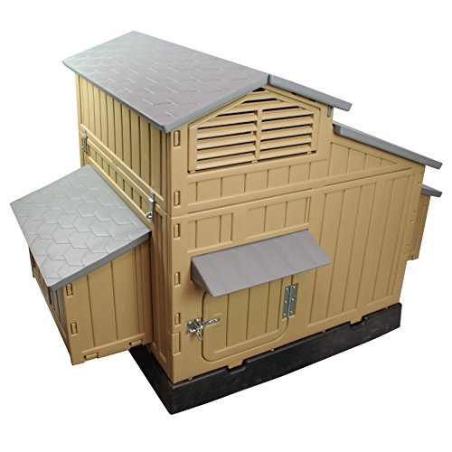 Formex Snap Lock Large Chicken Coop Backyard Hen House 4-6 Large 6-12 Bantams (Bantam Chicken Coop compare prices)