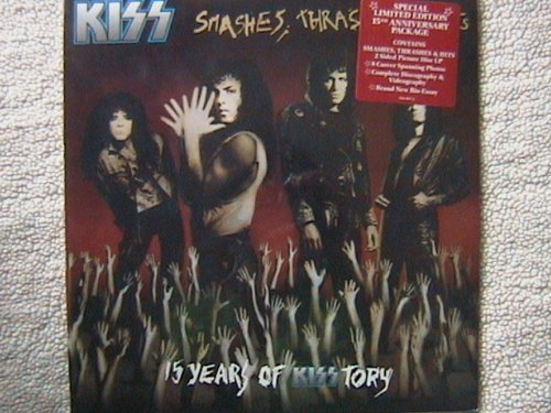 RARE KISS SMASHES, THRASHES AND HITS 15 YEARS OF KISSTORY VINYL LP PICTURE DISC