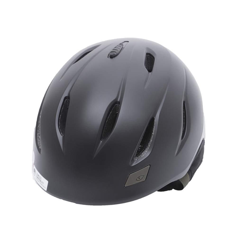 [ジロ] メンズ NINE AF ナイン アジアンフィット スノーボードヘルメット Matte 黒/Olive 70937  Large