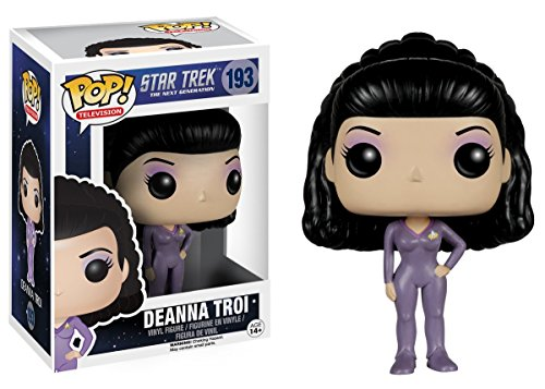 Deanna Troi Bobble head pop Action Figure Funko POP TV Star Trek The Next Generation 193