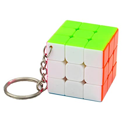 MZStech Mini Cubo Mágico 3x3x3 Colgante Decoración: Amazon ...