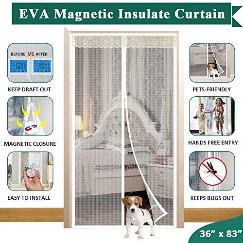 Magnetic Doorway Curtain Fit Doors Up to 34