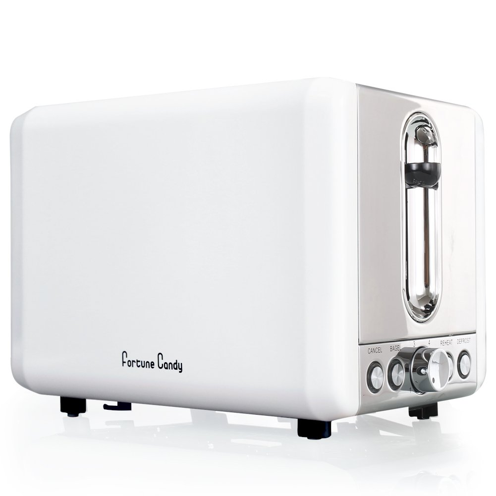 Amazon.com: Fortune Candy KST009 2 Slices Toaster Bagel Toaster With ...
