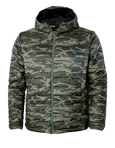 Columbia Men's Crested Butte Omni-Heat Hooded Jacket (MEDIUM)