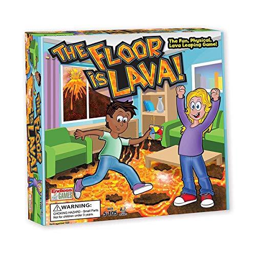 The Floor is Lava! Interactive...
