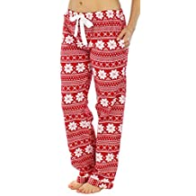 PajamaMania Women's Sleepwear Flannel Pajama PJ Pants