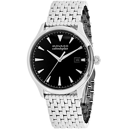 Movado Men's Swiss Quartz Stainless Steel Casual Watch, Color:Silver-Toned (Model: 3650012)
