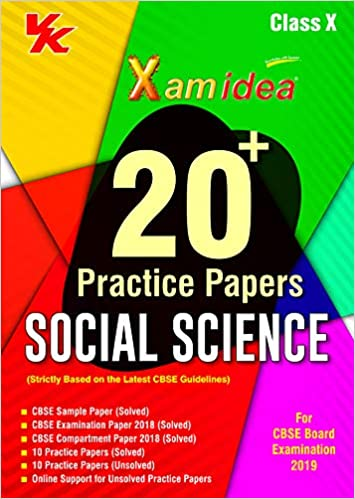sample paper of social science class 10 2019