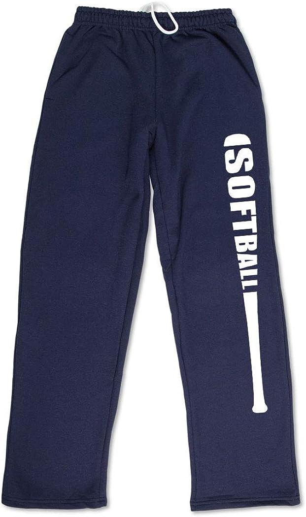 Live Love Softball Baseball Kids Cotton Sweatpants,Jogger Long Jersey Sweatpants