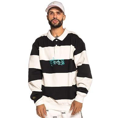 Grimey Sudadera SHAMBALA Stripes Sweatshirt FW18 BLACK-3XL: Amazon.es: Ropa y accesorios