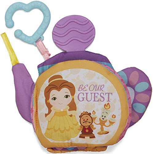Kids Preferred Disney Princess Soft Book, Belle (Princess Toy For Babies)