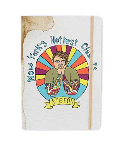 Saturday Night Live Stefon 96 Pages A5 Multi-Use Notebook, 5-3/4 x 8-1/4 Inches (SNLJ07)