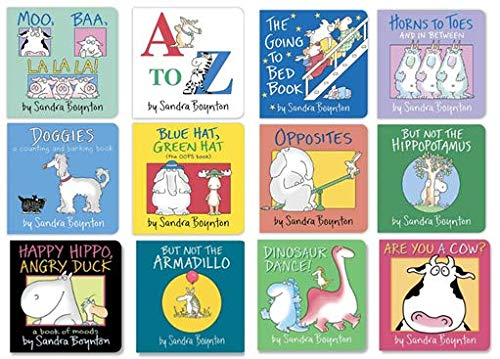 Boynton Board Books Set - Greatest Hits Collection: Sandra Boynton:  Amazon.com: Books