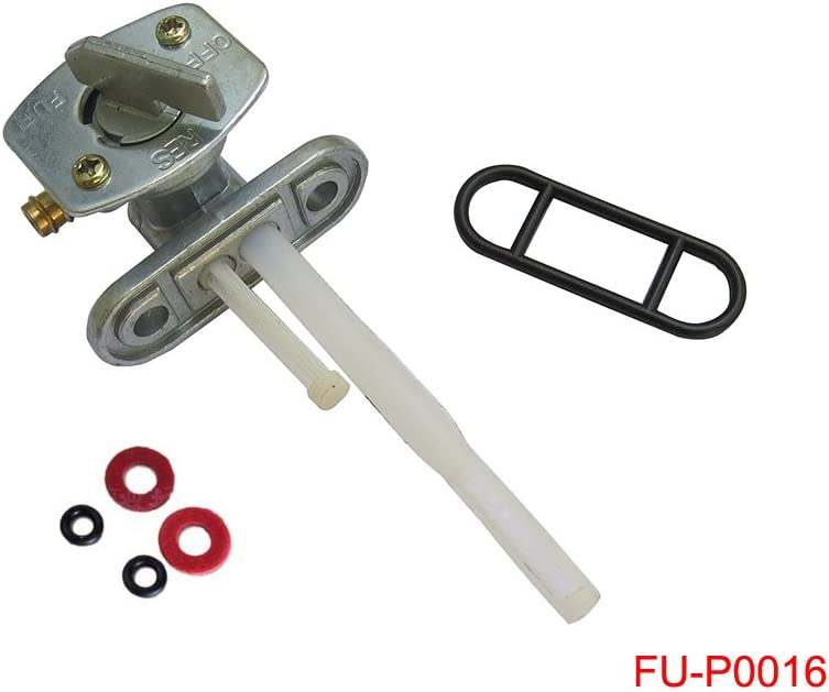 Fuel Gas Tank Petcock Switch Valve for Kawasaki Ninja 500 500R 600R ZX7R ZX7RR ZX9R EX500 EX500D ZX600 ZX750 ZX900