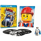 THE LEGO MOVIE: Everything is Awesome Edition (Bluray 3D + Blu-ray + DVD + Vitruvius Figure + 3D Emmet Photo) English, Spanish & French Audio & Subtitles