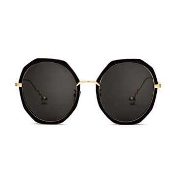 NUBAO Gafas De Sol Mujer Marea Personalidad Cara Redonda Gafas Polarizadas Miopía Ojos Gafas De Sol