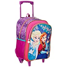 Ruz -  Disney Frozen Backpack Infantil con ruedas