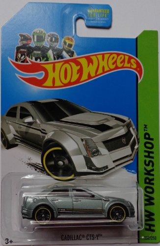 2013 Hot Wheels Hw Workshop Kmart Exclusive - Cadillac CTS-V [Silver]
