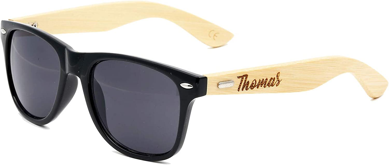 Kids Size Junior Groomsman Personalized Sunglasses