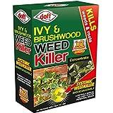 Pack Doff Ivy & Brushwood Weedkiller 2 Sachets Concentrate Garden Weedkiller
