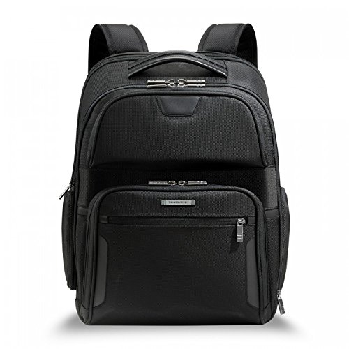 Briggs & Riley @ Work Luggage Clamshell Backpack, Black, One Size by Briggs & Riley