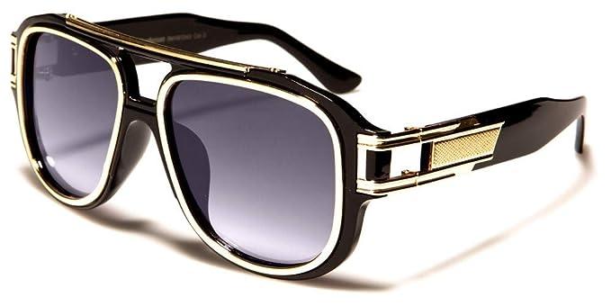 kommt an am besten authentisch geringster Preis Herren Flat Top Sonnenbrille 80er 90er Jahre oversized Trap Style BS71