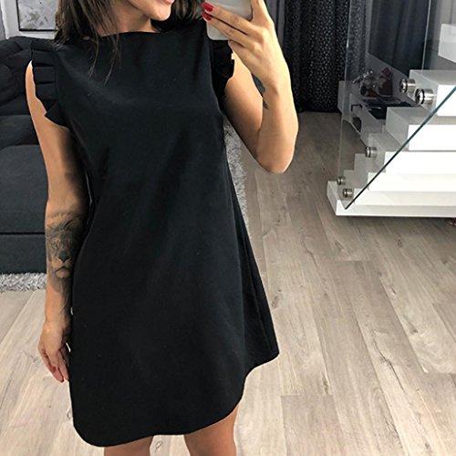 Swing kleid schwarz pailletten