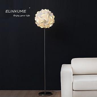 Moderne Stehleuchte, ELINKUME Weiß Creative Stereo Wohnzimmer Dekoration  Lampe, Kunst Und Minimalistischen Stil LED