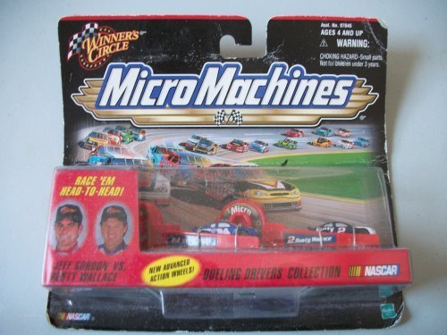 Jeff Gordon Vs. Rusty Wallace Dueling Drivers Collection Micro - Wallace Race Rusty