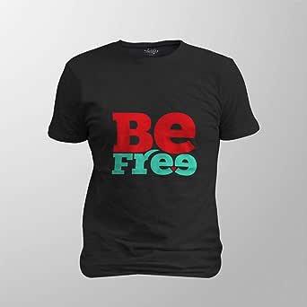 Antika Men T-Shirt Be Free, Xl