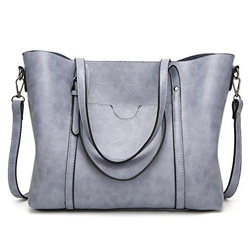 (LoZoDo Women Top Handle Satchel Handbags Shoulder Bag Tote Purse)