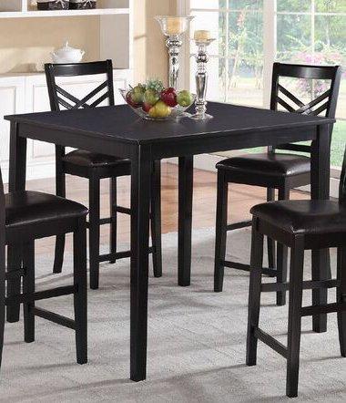 Poundex PDEX-F2396 Dining Tables Black