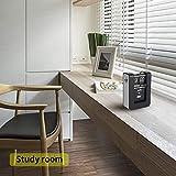 MIDCLOCK Flip Clock, Home Décor Desk Clock, Funny