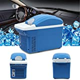 Mini Portable Fridge, Anytec Car Refrigerator for Travel Camping 8L - DC 12V 45W