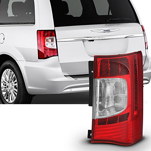 For 2011 2012 2013 2014 2015 2016 Chrysler Town & Country Red Passenger RH Right Side LED Tail Light ()