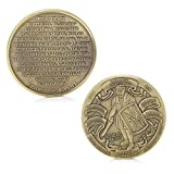 Armor of God High Relief Challenge Coin Collector's Medallion, Jewelry Quality