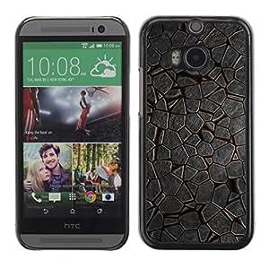 Be Good Phone Accessory // Dura Cáscara cubierta Protectora Caso Carcasa Funda de Protección para HTC One M8 // Pattern Nature Ice Environment