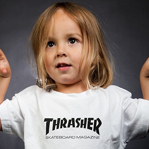 Age 2-6 Kids Toddler Thrasher Magazine Girl/'s T Shirts