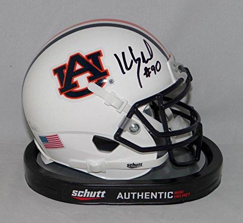 Kevin Greene Signed Auburn Tigers Schutt Mini Helmet - JSA W Auth ()