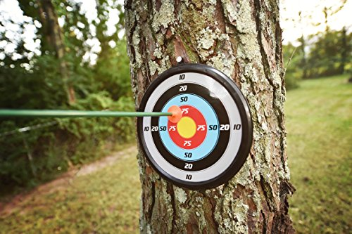 51TPnTOqS7L - Sunny Days Entertainment Maxx Action Hunting Series Toy Archery Bow & Arrow Set with Target and Accessories