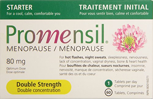 - Promensil Menopause Double Strength 60 Tablets